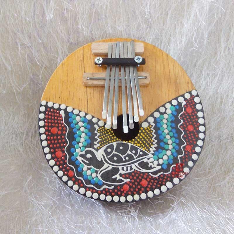 Karimba/Kalimba Alat Musik Khas Afrika / Piano Jempol Kura-Kura/Penyu