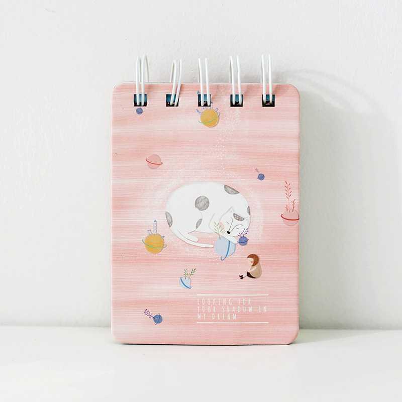 BEST SELLER Kitty in My Dream Spiral Ruled Notepad A7 / Buku Catatan Spiral Garis HARGA TERMURAH