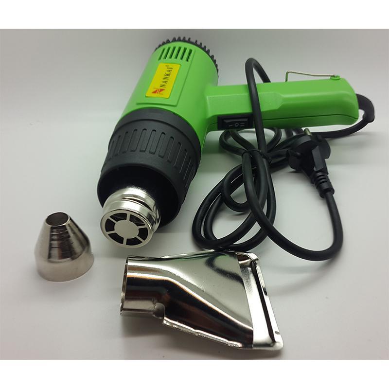 Nankai Hot Gun / Hot Air Gun / Heat Gun Hijau / Pemanas Skotlet / Heat Gun Pistol Pemanas By Wp Agen Perkakas-.