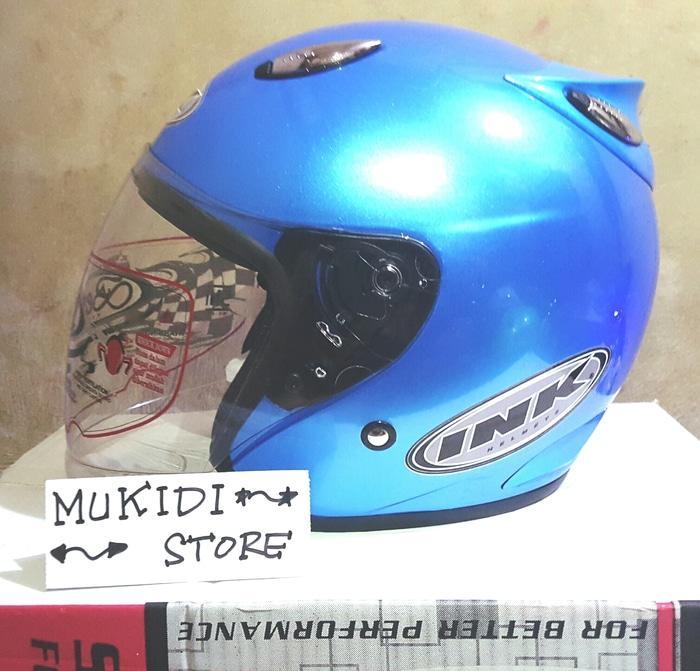 Helm basic INK Centro - Good Product - bkn KYT BOGO AGV RETRO CROSS AN || helm kyt / helm bogo / helm full face / helm ink / helm sepeda /helm motor/helm nhk/helm retro/helm anak/helm gm