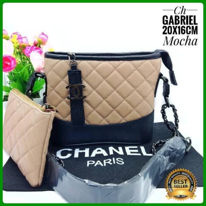 Tas Selempang Wanita Channel Gabrielle Import Nagita Fashion Wanita - Putih  - tQ8piT 9a0496383f