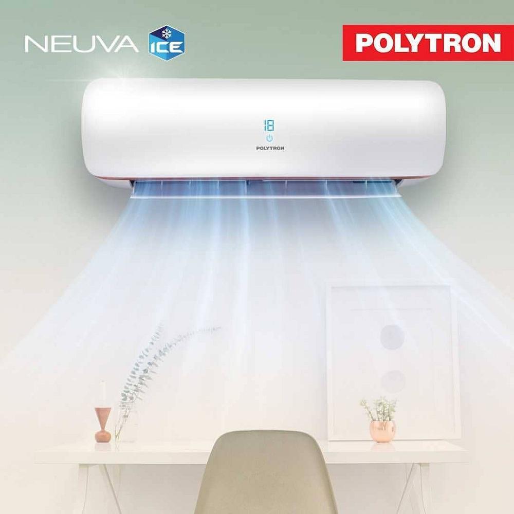 Polytron PAC-9VXM / 9VX AC Split 1 PK Low Watt Neuva Ice R410a - Putih