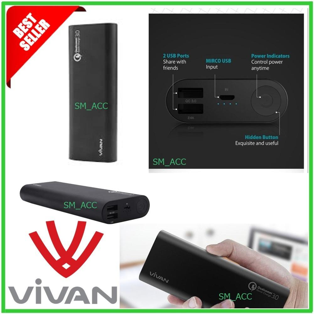 Buy Sell Cheapest 1m Length Quick Best Quality Product Deals Vivan Ml 100 Cable Data For Iphone 5 6 Powerbank Vpb M20 Charge30 Black Kapasitas 20400mah Original