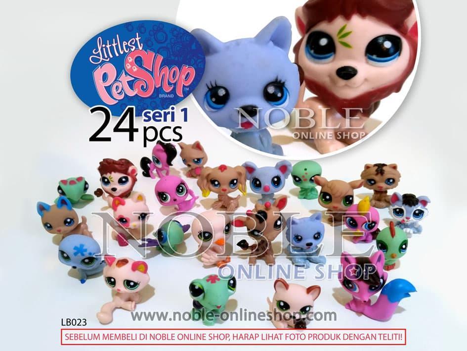24pc Figure Seri 1-Chibi Little Pet Shop