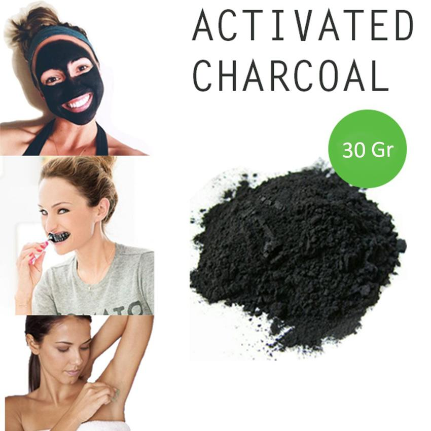 Pemutih Gigi Charcoal Whitening Teeth - 30gr By Luckystore
