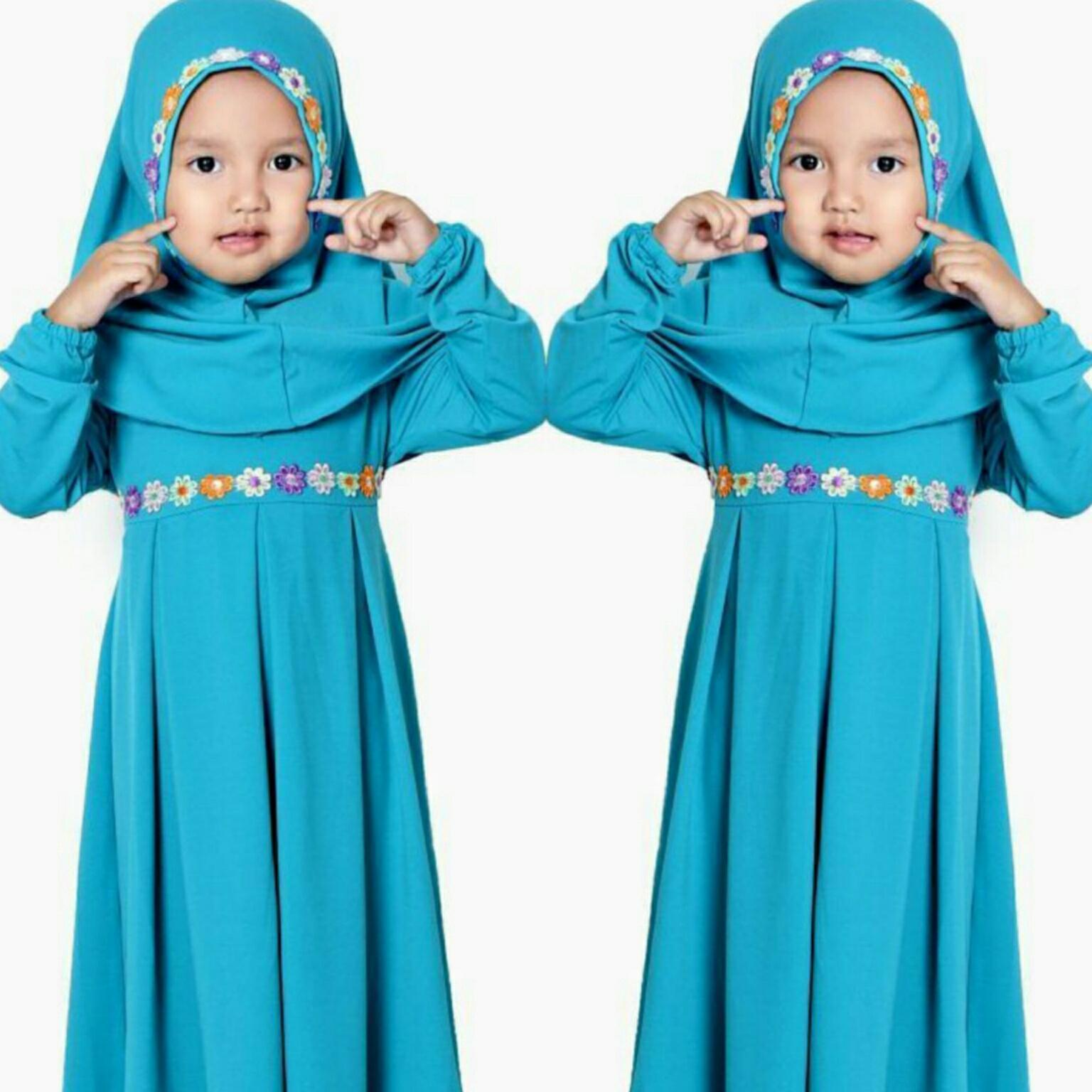 Snowshopkita Gamis Syari ALINA Kids Syari & Jilbab