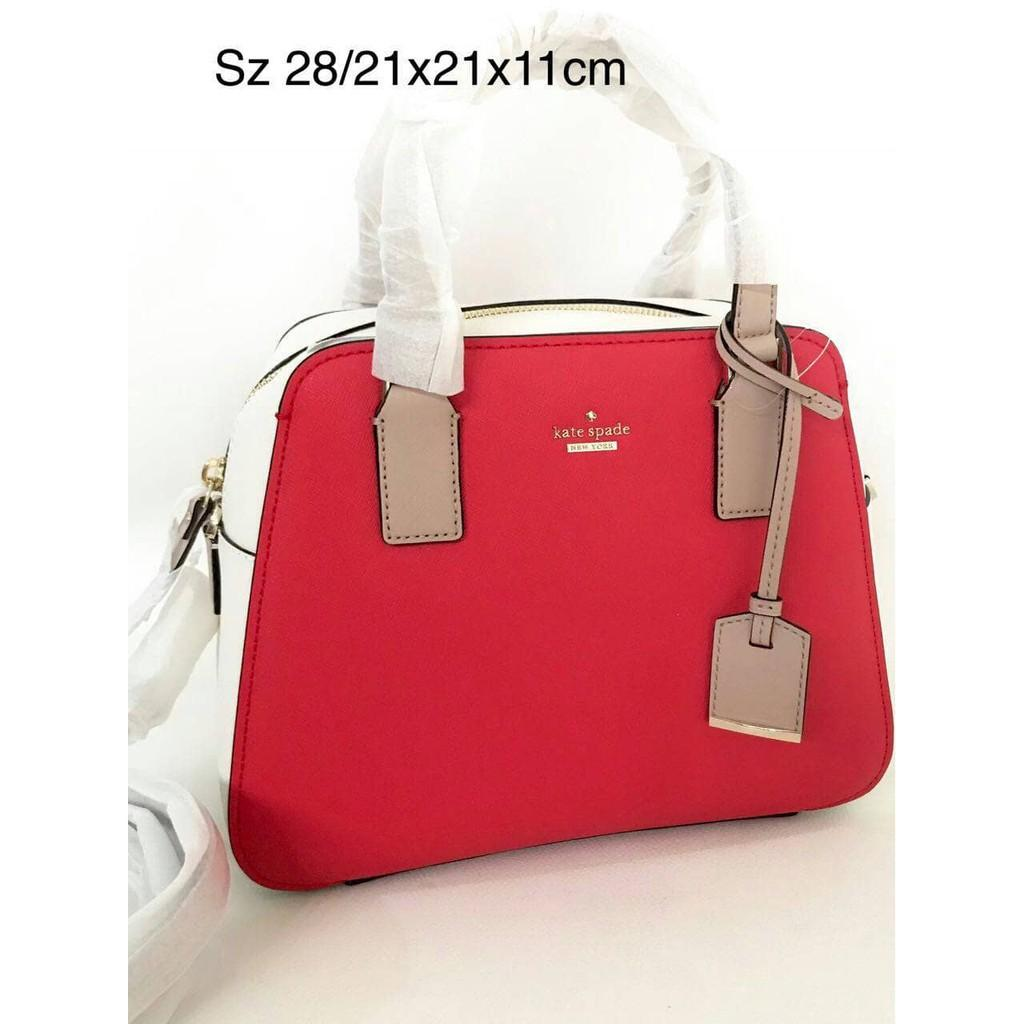 Jual Tas Kate Spade Little Babe Red Original