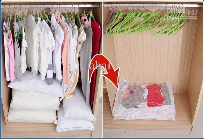 DISKON!!! Plastik Compress Vacuum Bed Cover Seprei Baju Pakaian Boneka Mainan Sedia Juga Bed cover california, Bed cover kintakun, Bed cover single, Bed cover bayi, selimut Bed cover