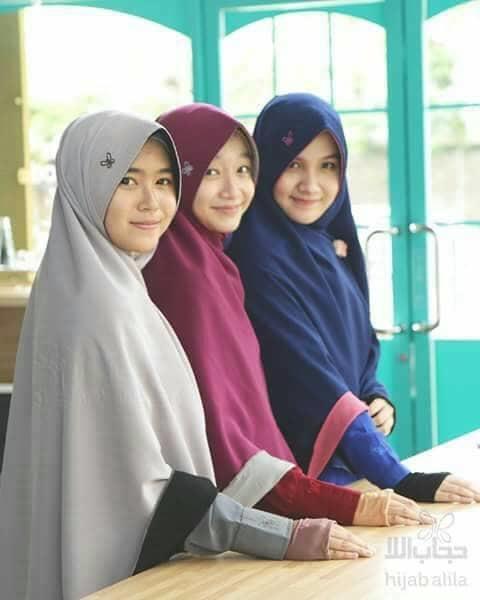 Hijab Alila - Khimar Berri Perdana (Size M) A1844