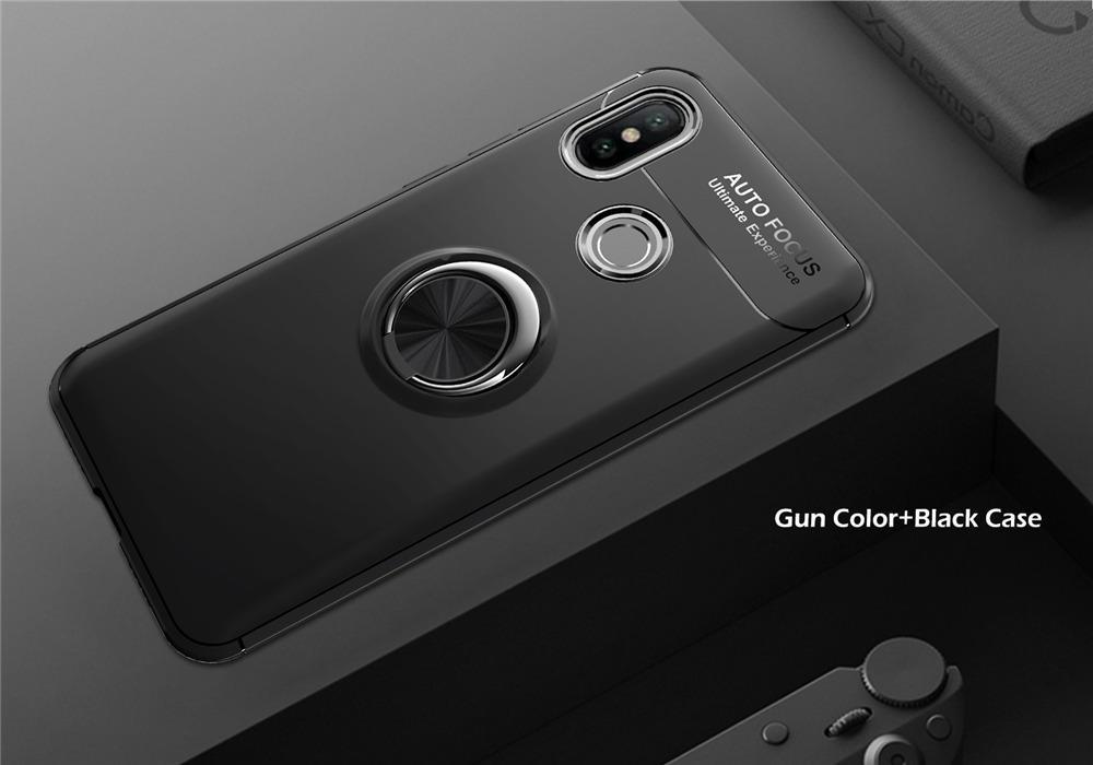 Xiaomi Redmi Note 5 / Note 5 PRO Case Socket Crome Autofocus With Holder iRing 360