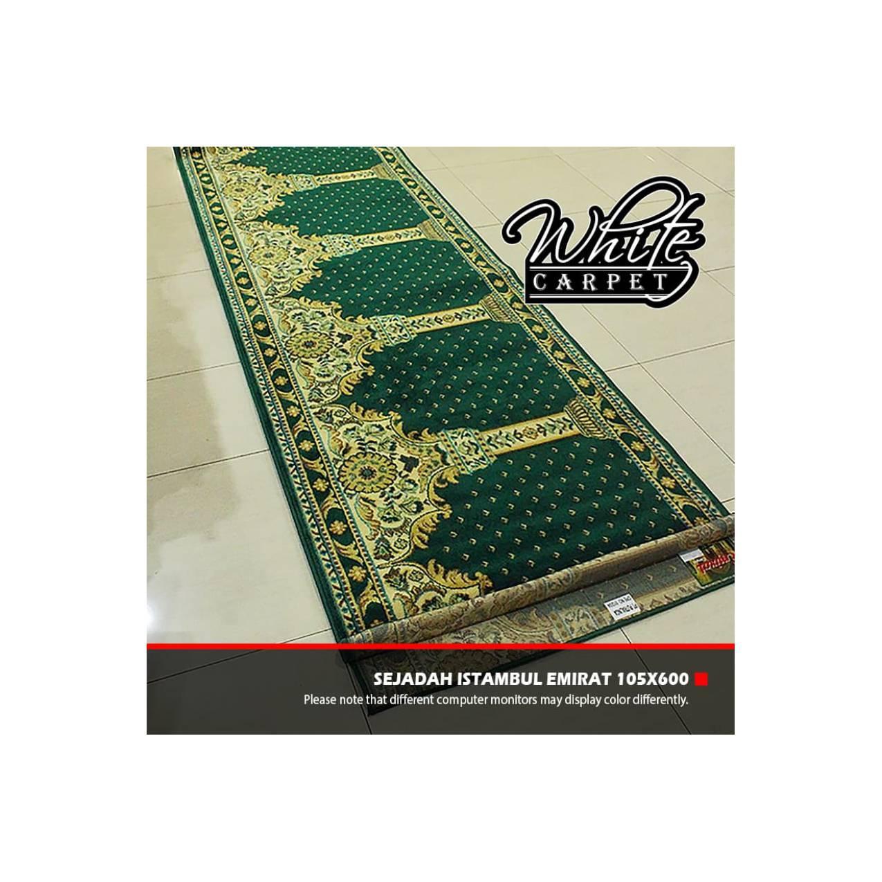 Sajadah Karpet Istambul Emirat 105x600cm Murah Berkualitas