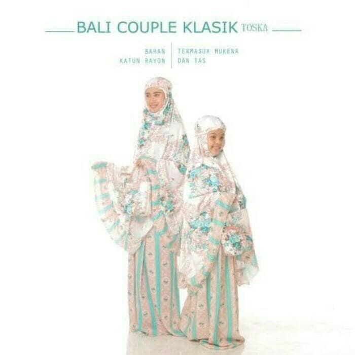 mukena couple ibu dan anak bali original / alat shalat / mukena / sajadah / sarung / pakaian muslim / perlengkapan shalat / hijab / hijab terbaru 0a285