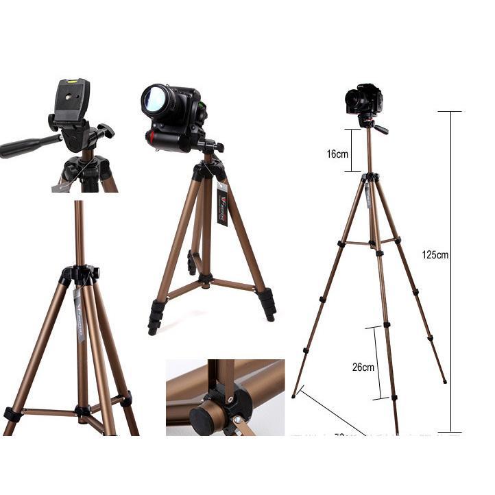 Tripod Kamera DSLR Weifeng WT-3130 1.25 Meter with WaterPass