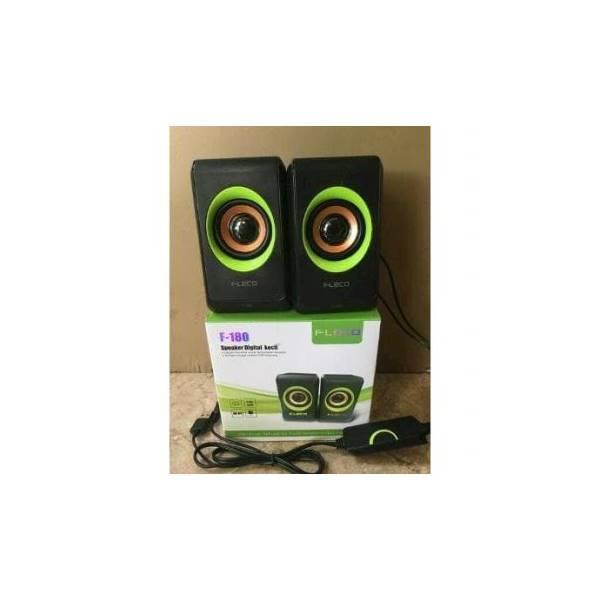 PROMO TERMURAH Speaker FLECO F-180 Digital Mini Hp Komputer Audio - Sp Hot Sale