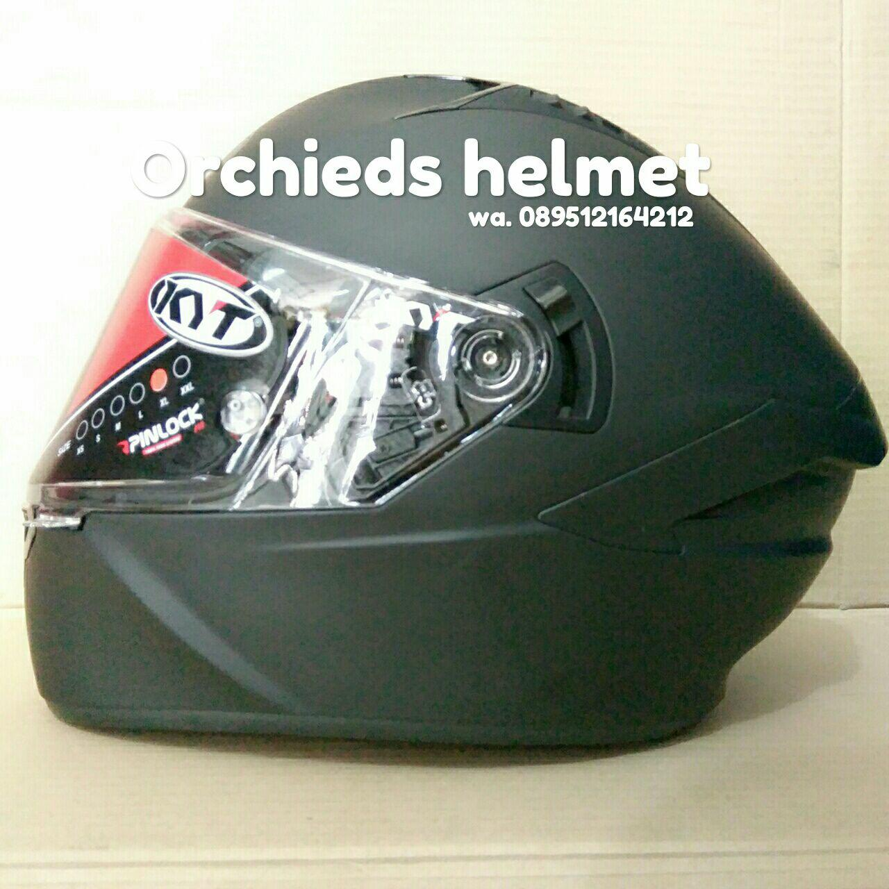 Helm Kyt Nfr Plain Matt Black