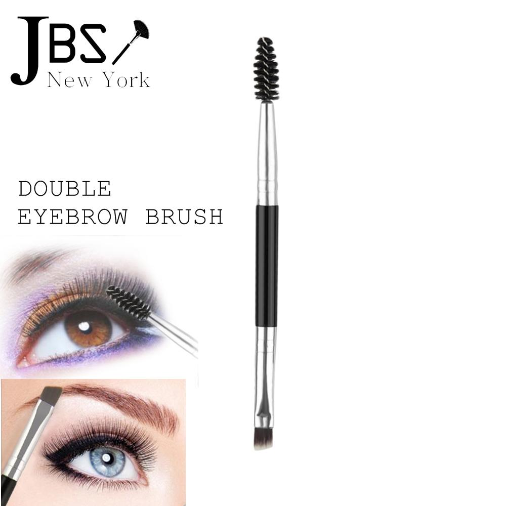 JBS New York FREE ONGKIR Profesional 2 In 1 Alis Brush Bundle + Alis Eyelash Sisir  Makeup Maskara
