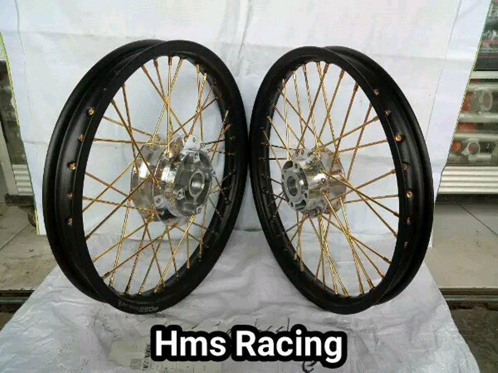Sepaket Velg Rossi Ring 17 Lebar 140 160 Rx King - Njmx - Ju