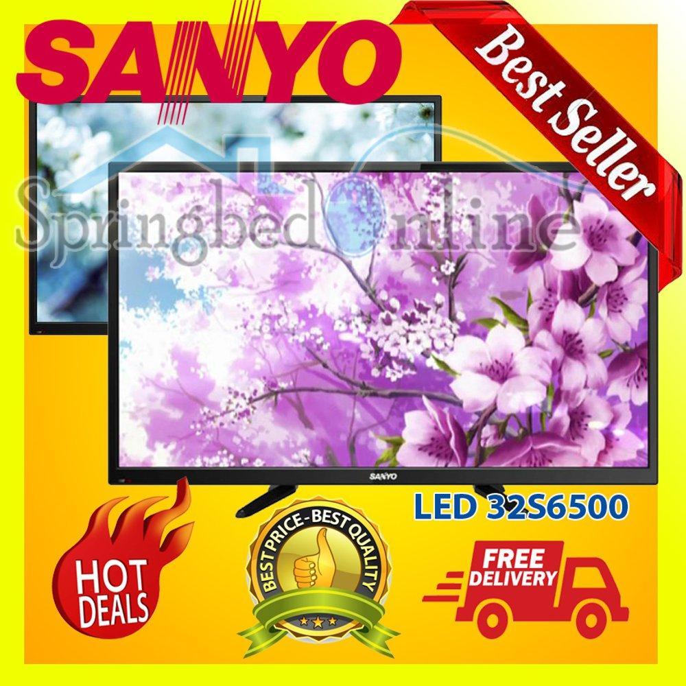TV LED Sanyo Layar 32inch 32S6500 Usb Movie Harga Pabrik