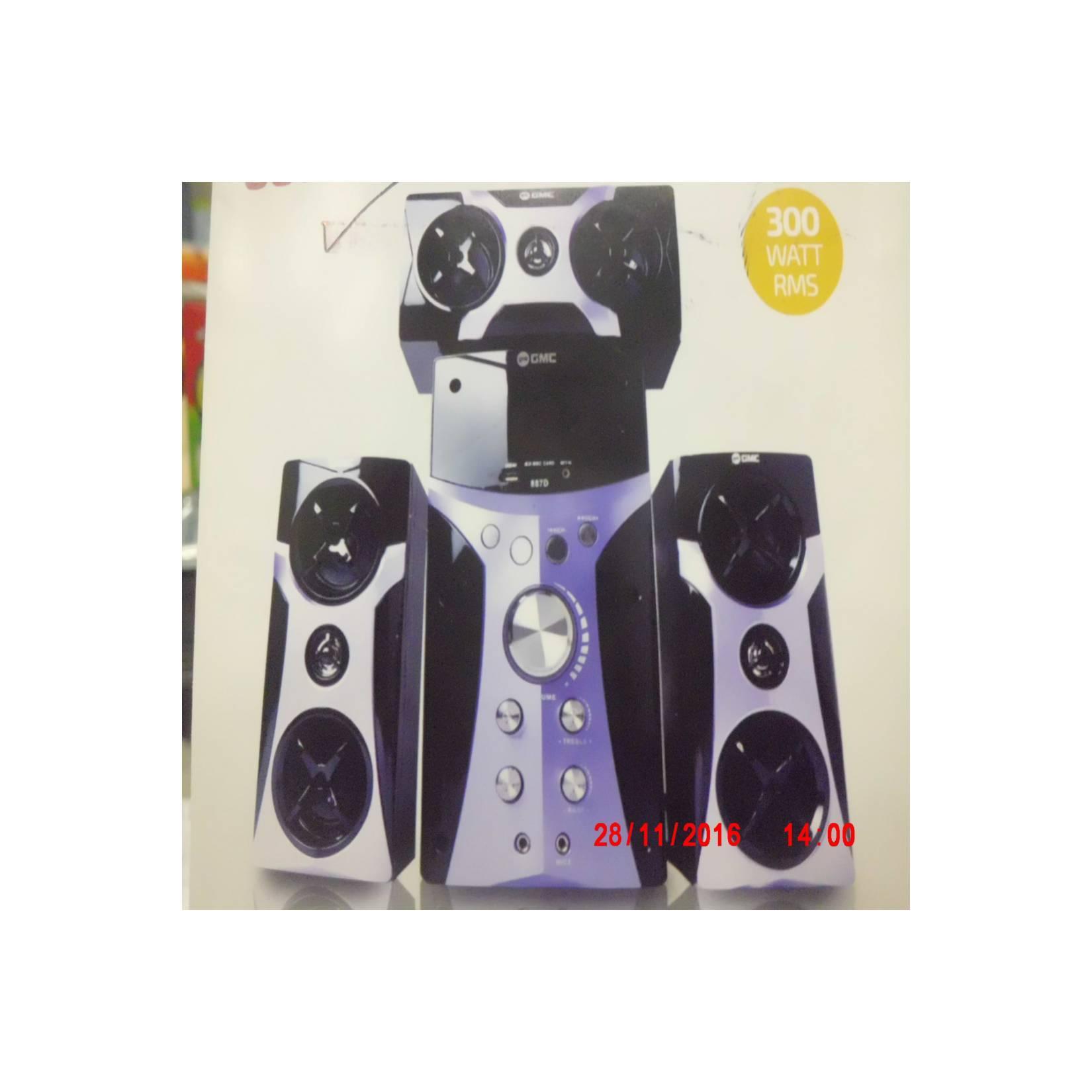 Speaker 2.1 GMC 887 D