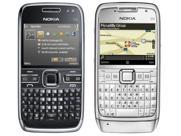 Nokia E71 Qwerty Original machine