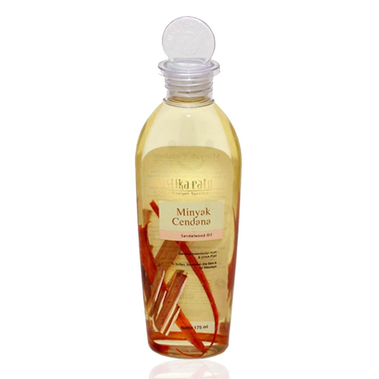 mustika ratu Minyak Cendana-Smoothen the skin & for Massage 175ml