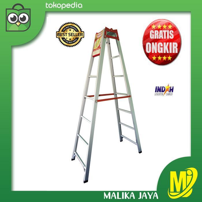 Promo Tangga Lipat Aluminium Merk Master 2,5 Meter Original