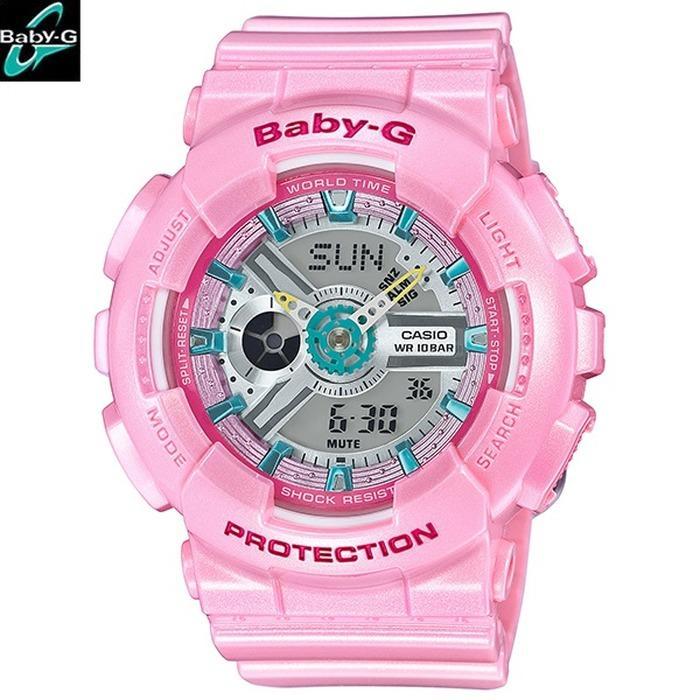 Jam Tangan Wanita Merk Casio Baby-G Type : BA110 Baterai