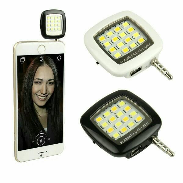 HOT DEALS!!  Lampu Selfie HP Smartphone Android Iphone TERMURAH / MURAH / PACKING RAPIH / PENGIRIMAN CEPAT
