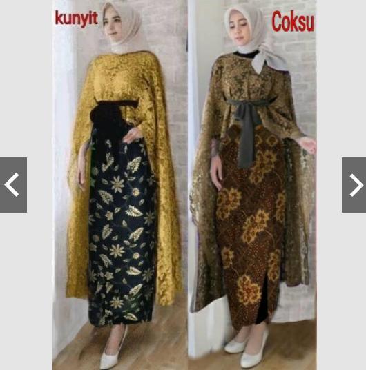 ... Baju Kondangan Murah - Gamis Wisuda - Gaun Pesta Muslim - Syari - Hijab Jilbab Batik - ihnailaIDR169950. Rp 178.900