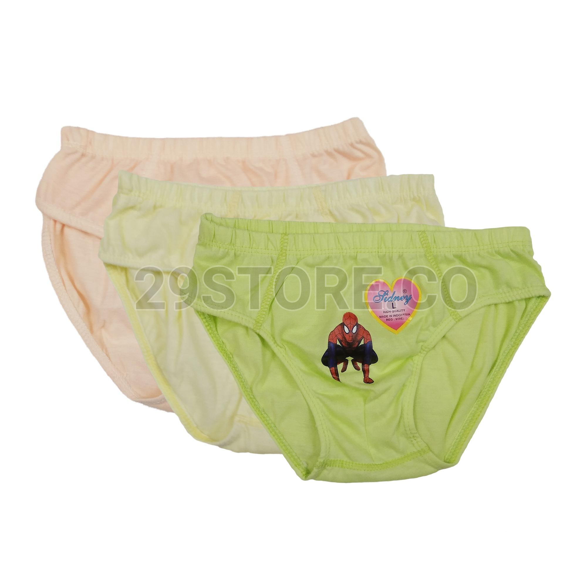 6 Pcs - Celana Dalam CD Anak Cowok Laki-Laki Polos Murah e16e95ddd6