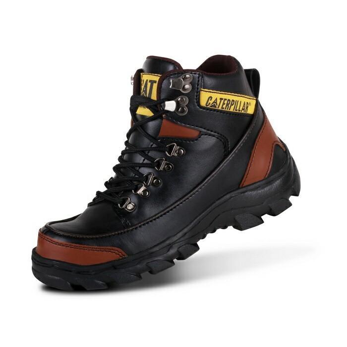 Sepatu Boots Pria Safety  Sepatu Pria terlaris Termurah Original Caterpilar Argon Sepatu Outdoor
