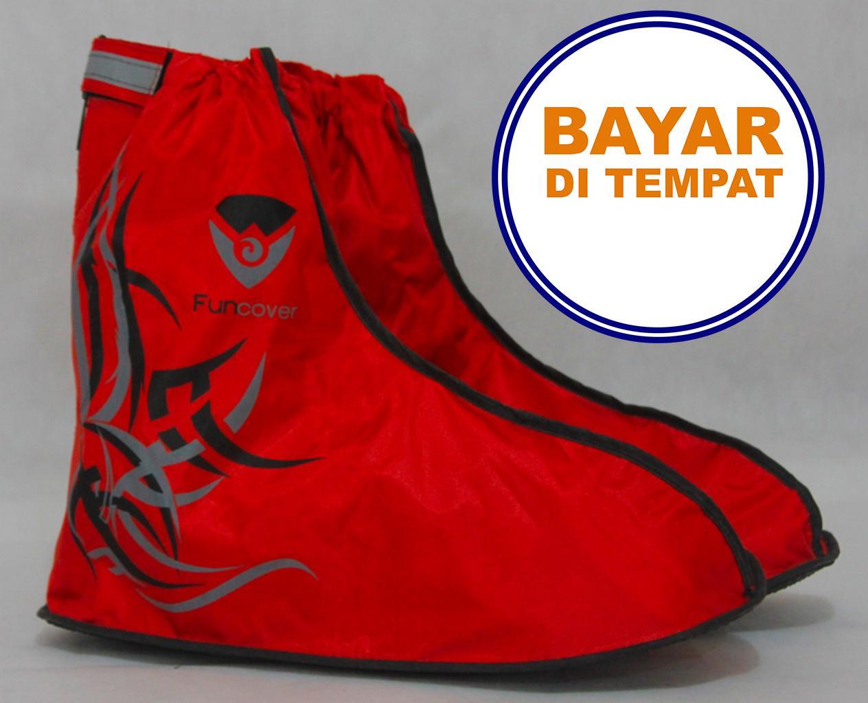 PROMO SAAT INI    Distributor Jas Hujan Sepatu,Sarung Sepatu,Cover Shoes Anti Air  Fun Cover