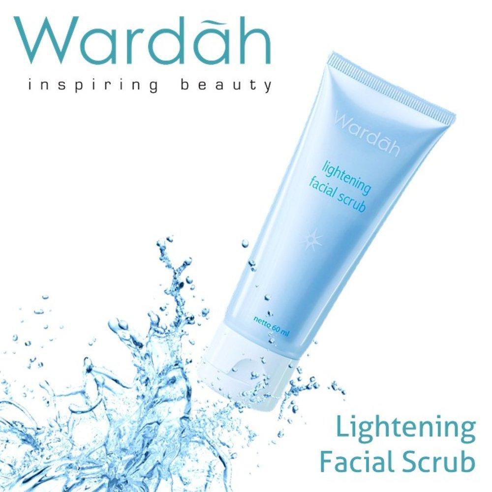 Beli Wardah Lightening Facial Scrub 60 Ml Glizzkosmetik 60ml