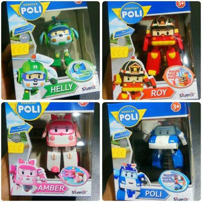 Kenz Mainan Anak Koleksi Robocar Poli Mini Roy Merah - Daftar Update Harga Terbaru Indonesia