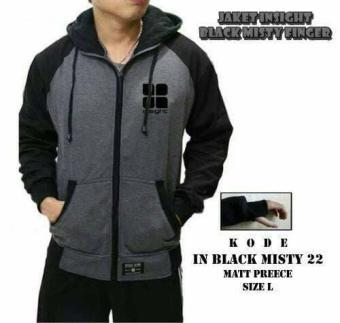 Harga preferensial i.n.s.i.g.h.t black misty finger / Outerwear / Jaket / Jaket Pria / Jaket Kekinian