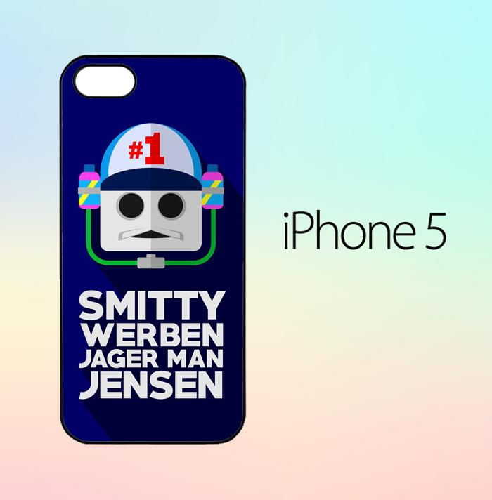 Smitty Werbenjagerman Z5669 Casing Custom Hardcase iPhone 5 / 5s Case Cover