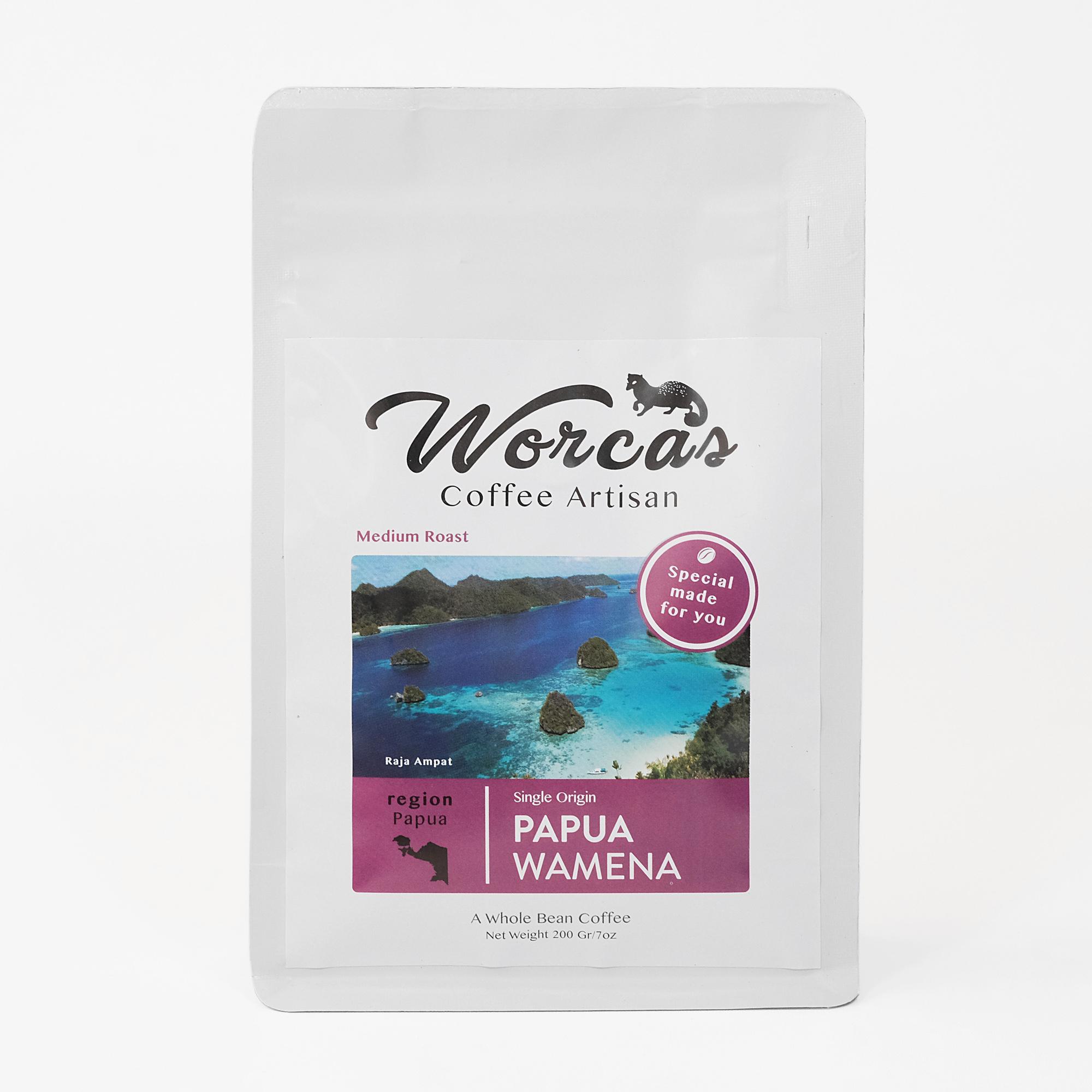 Kopi Biji Bubuk Arabika Super Koffie Warung Tinggi Premium Coffee 250 Gram Arabica Papua Wamena 200 Medium Roast