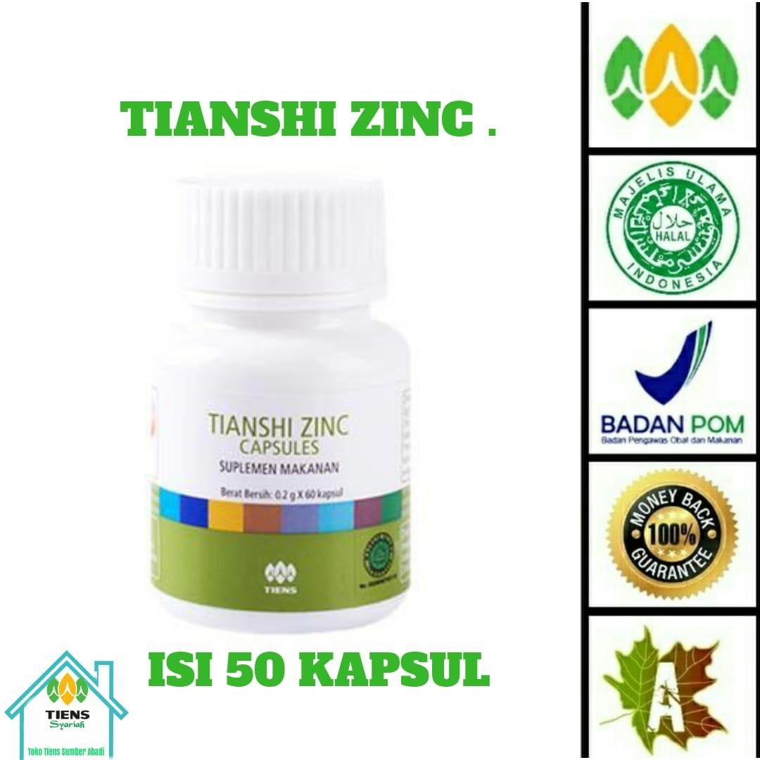 Buy Sell Cheapest Tianshi Zinc Capsule Best Quality Product Deals Tiens Capsules Herbal