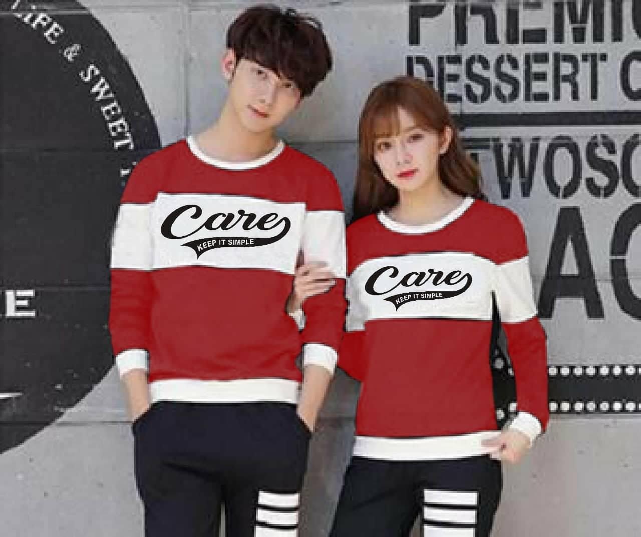 ... COWOK DAN CEWEK. IDR 75,699 IDR75699. View Detail. JS - Baju Kaos Couple Care Keep / Kaos Lengan Panjang / T-Shirt Couple