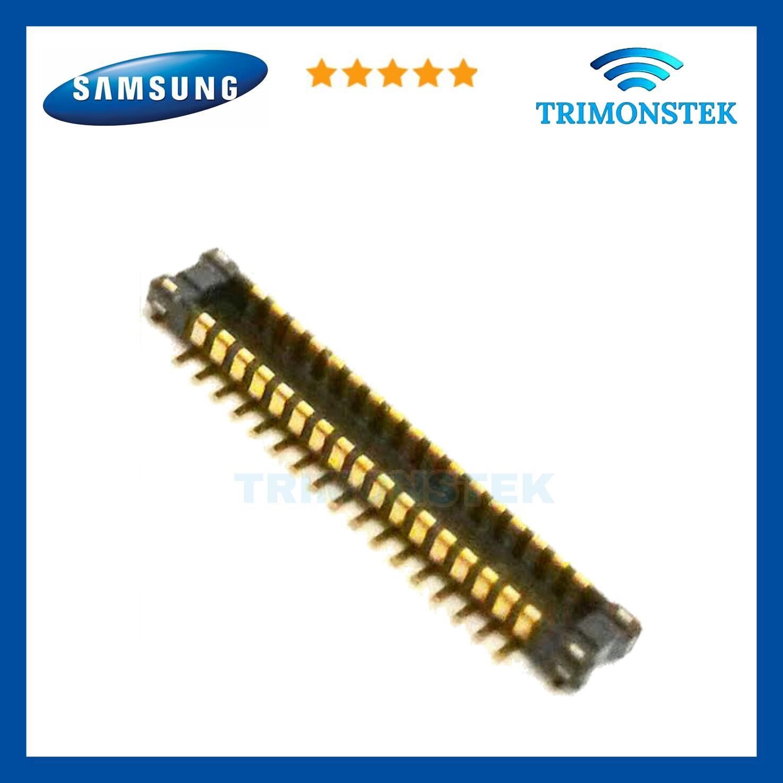 Konektor Connector Socket Lcd Samsung Ace 4 G313F Galaxy V Plus G318 Ace 2 i8160 S3 Mini i8190 J120