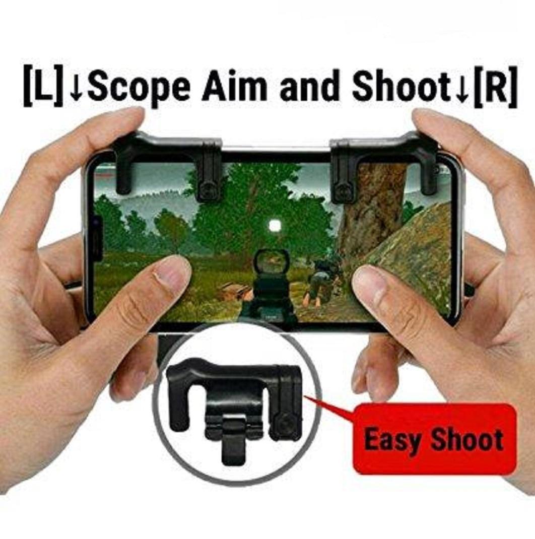 ... Alat Bantu Maen Game Di Smart Phone / Joystick MurahIDR24000. Rp 24.153. Bendoel Gamepad Handle Trigger Fire Button Aim Key ...