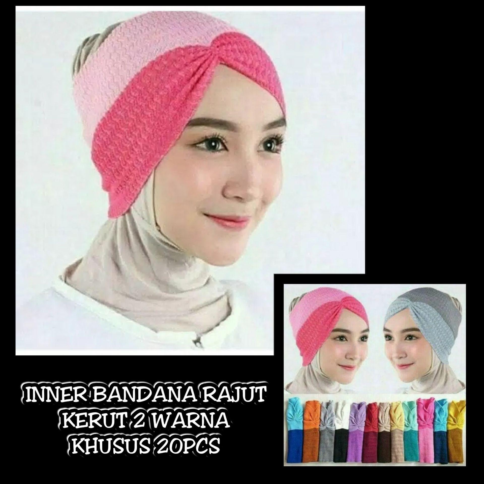 ... Inner Hijab Premium/ Ciput Rajut SalurIDR59950. Rp 60.000