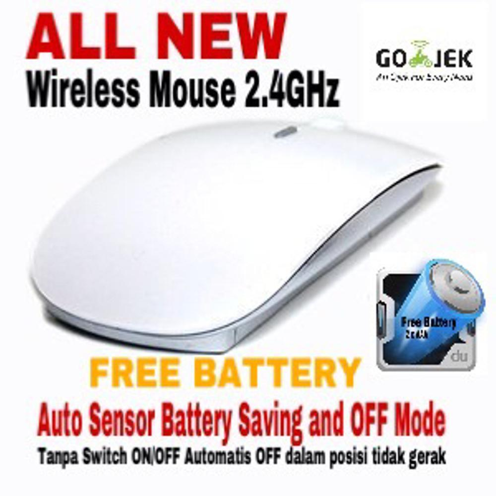 Magic Mouse Wireless 2.4Ghz Compatible For PC Laptop/Notebook di lapak AppShoppe appshoppe