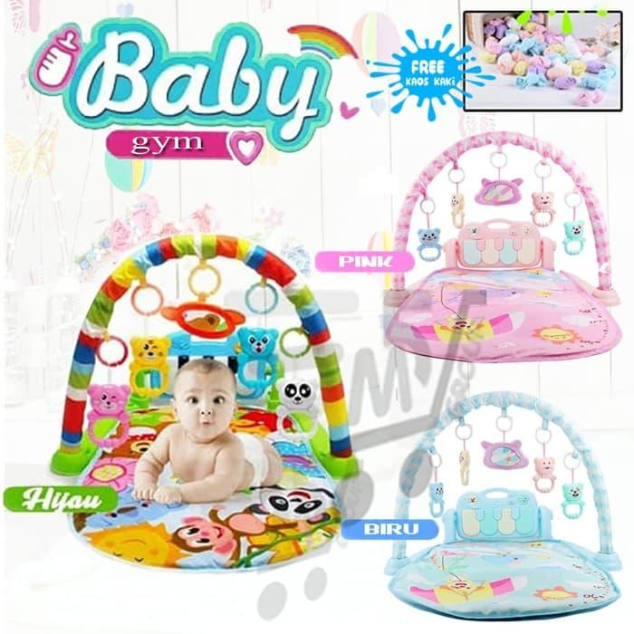 Baby Musical Playgym Bayi Kerincingan Baby 0eed44d48f