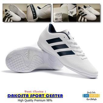 Sepatu Futsal - Adidas Nemeziz Tango 18.4 White Navy anggaran terbaik -  Hanya Rp284.258 108636b10f