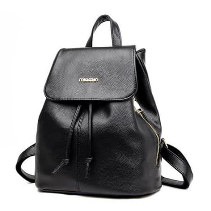 Tas Ransel Wanita Backpack Import 17012 Tas Jalan Casual Modis - yLHLn2