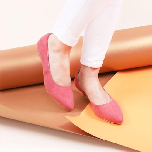 Boston Salem Suede Heels/ Sepatu Wanita Heels Hak Tahu / Heels Tahu Wanita Terbaik / W