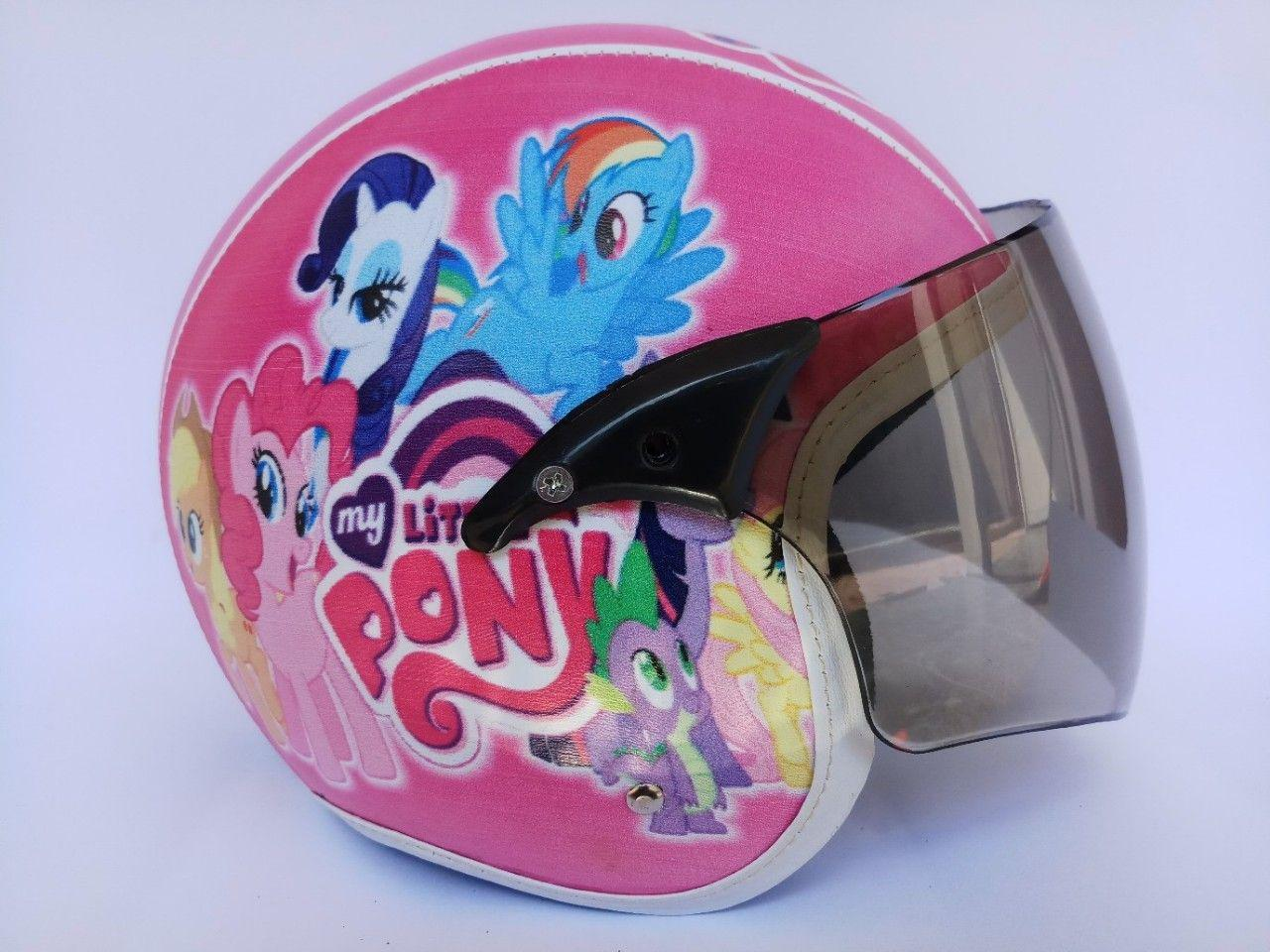 Helm anak kaca standar (little pony)
