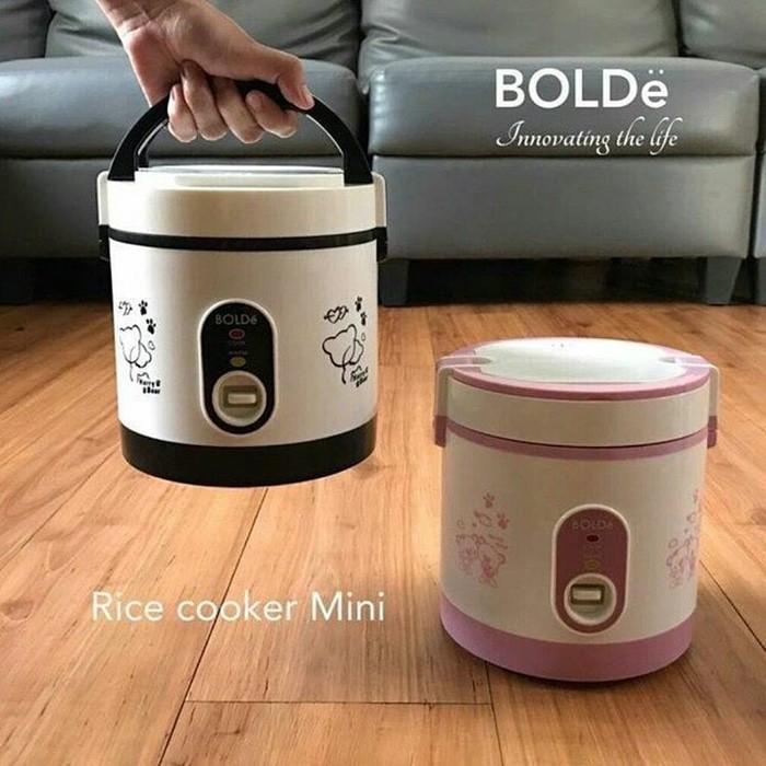 Super Cook Bolde Personal Mini Rice Cooker 3 In 1 (0-6 L) - Original - Jo6dfm