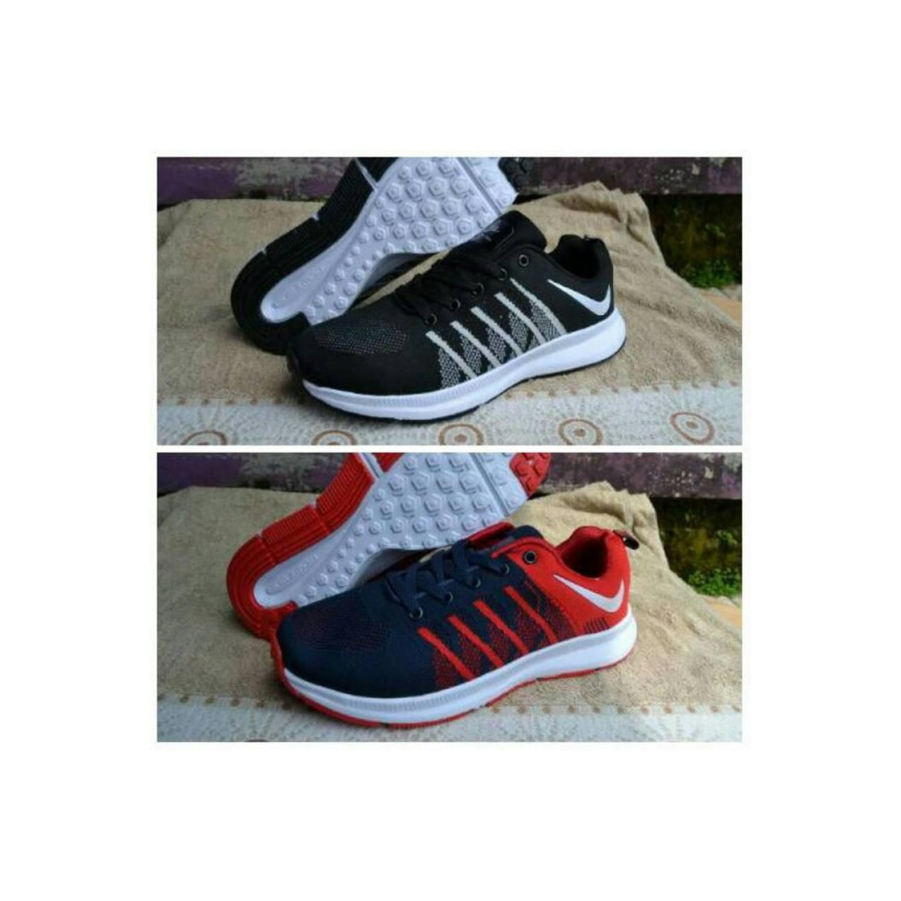 Sepatu sport nike airmax free pegasus zoom flyknit running aerobic neo